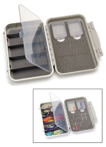 C&F DESIGN - MEDIUM 2-ROW WP TUBE FLY CASE W 5 COMP